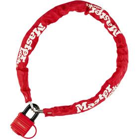 Masterlock 8390 Chain Lock 6 mm x 900 mm, red